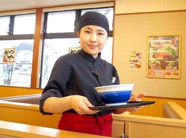 【かつやStaff/ディナー】@katsuyaかつやでバイト始めたよ♪今日が初出勤★行ってきます!!いっぱい稼いでくる(笑)#初バイト #かつや #ディナー
