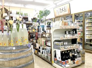 店内にはレアなお酒がズラリ★ なんと、業者しか入れない酒蔵に見学に行くこともあるんだとか! お酒好きにはたまりませんね♪