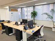 ◆長堀橋駅直結!アクセス抜群◆ 暑い夏も涼しく快適に通勤可能!フロア移転で広くて開放的なオフィスにリニューアルしました♪
