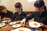 もっちもちの麺が自慢の生パスタ専門店♪美味しいメニューもスタッフ特別料金でたべられる◎お仕事のやる気もUP!