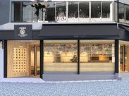 ≪東山にOpen♪≫コーヒー×お茶という組み合わせにピッタリの、和モダンな外観◎※こちらは店舗の外観イメージ画像です