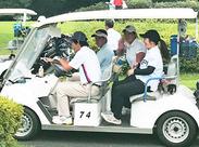 【車がなくてもOK】出張面接は勿論、実際にお仕事がスタートしたらゴルフ場までの送迎も行っています‼