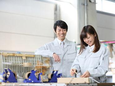 広い工場内もエリアごとの作業なので 疲れすぎずいい運動になりますよ!