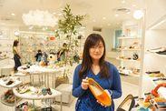 ▼未経験OK!!ライフスタイルに合わせやすいお洒落な靴の販売♪ノルマなどもないので楽しく接客できますよ☆