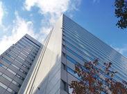 日本橋エリアのオフィスビルのカンタンな清掃をおまかせします♪(画像はイメージです)