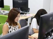 ≪働きやすさに自信あり◎≫ 駅近のオフィスはとってもキレイ☆服装、髪型、ネイル自由でアナタらしく働けます♪