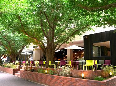 オープンテラスのあるオシャレなカフェ&レストラン* ライフスタイルの様々なシーンで「上質な美味しさ」をお届けしています★
