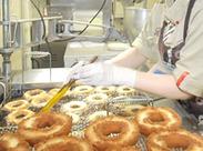 ≪ミスドの本格ドーナツが作れるようになる!!≫ドーナツの製造、接客が学べる★シフトの相談もどんどんしてくださいね♪