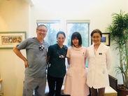 ★衛生士さんの白衣は自由! かっこいいスクラブ、拡大鏡、キュレットも用意してます^ ^