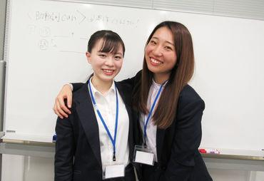 京急線の利用している先輩も活躍中! 都心の学校の帰りに お仕事しやすい点も魅力ですよ!