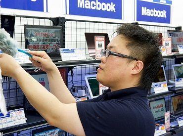 \デジタル家電天国で働こう!/ 新品だけでなくリユース商品も扱っているため、お宝商品に出会えることもありますよ♪
