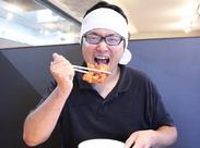 ↑どうも!フェス好き店長です!人気のラーメン・ザンギセットも100円!美味しいまかない食べにおいでー!!