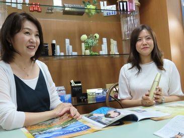 ★30~40代の女性スタッフが中心の職場で一緒に働きませんか! 1日4hの短時間勤務!