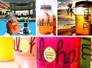 """【 バイト未経験歓迎♪】Hawaii発のレモネードとポキが楽しめる"""" Hawaiiゾーン """"を一緒に盛り上げてくれるスタッフ募集中♪"""