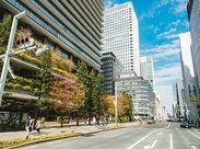 勤務地は東京銀座☆仕事帰りはショッピングだって行けちゃいます!