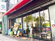 広小路駅から徒歩5分、アクセス◎ 店頭のブタさんが目印のお店です!! 店内は広々としていて、ゆったり働ける♪