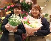 お花だけでなく花器や雑貨など様々なアイテムも取り扱っています♪知識がなくてもしっかりサポートするので安心★経験者は優遇!!