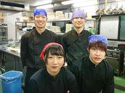 \\新しい仲間を募集中~♪// 福井大学生さんを始め、学生スタッフ多数活躍中★ スタッフ同士の仲の良さも魅力◎