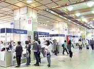 金沢駅構内に設営した、お土産売り場の会場です★チームで作り上げたものが、形になるのでやりがいもたっぷりですよ♪*