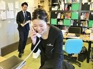 電話対応とカンタンな事務作業だけ♪マイペースに働けます。.:*