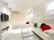 清潔感のあるキレイな客室だから、とってもやりがい抜群♪初めての方でも、すぐにスタートできるとってもカンタンなお仕事!