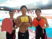 \未経験スタッフ活躍中☆/ 子供が好きなら、水泳が得意じゃなくてもOK♪ 研修も最大3ヶ月あるので安心スタート◎