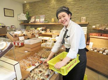 幸せいっぱい♪*洋菓子・和菓子の販売スタッフ大募集! 季節限定&新作スイーツなどの最新情報をイチ早く知れるのもPOINT♪