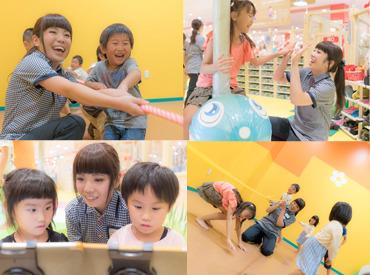 【保育スタッフ】*+:。子どもたちの笑顔がイッパイ!。+*保育士・幼稚園教諭の資格をお持ちの方♪資格取得中の学生さんも募集中!<女性活躍中>
