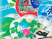 香川県はなんと…うちわの生産、日本一! そんな伝統に支えられ、最先端ツールとしてのうちわを作っている会社です♪