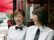 主に宴会サービスでのお仕事をお任せ! その他、洋食・和食レストランやラウンジのお仕事もあり★ 一流の接客マナーが学べる◎