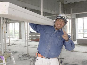 【外壁工事STAFF】<安定と高収入の奇跡の両立!!>未経験OK!先輩がわかるまでちゃんと教えます!扇風機付きの作業着で快適なのもポイント★