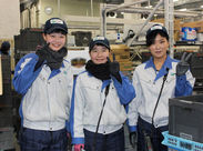 現在活躍中の女性スタッフ!! 短時間で働けるのでプライベートも充実◎ 食品を扱うので重労働はありません♪