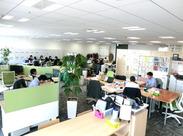 社内の雰囲気です。とてもきれいで働きやすい環境ですよ◎
