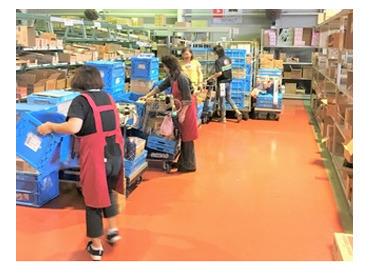 <中高年活躍中!> 倉庫内で集荷&仕分けのお仕事をお願いします。未経験スタートの方もカンタンに始められるので安心です♪