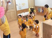 ≪定員12名の小規模保育園です♪≫働いているSTAFFは現在8名◎ 子供一人ひとりにしっかりと目の行き届く環境です!