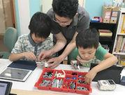 教室用レゴを使って学んでいます◎「子どもが好き」「教育に興味がある」そんな方、未経験も大歓迎!!