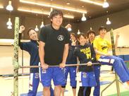 スポーツ好きが集まる楽しい職場です★体操、スイミング、フィットネスと幅広いのも魅力的ですよ◎