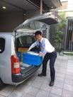 ≪配布エリアは、京都市内がメイン☆≫現場までは、車で移動です!
