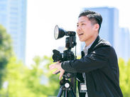 未経験OK!カメラマン(男女)・アシスタント大募集♪技術は全部お教えします☆カメラ・写真に興味がある方必見です◎