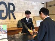 ホテルフロント未経験だったスタッフ多数! 「興味がある・やってみたい」方の応募をお待ちしてます★ 嬉しい【朝ごはん】無料♪