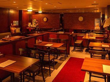 <大手町駅直結★> オフィスビル内にある喫茶店* お客様は会社員の方がほとんどです◎