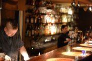 お料理に合うワインやリキュール、カクテルを豊富に揃えてお客様をおもてなし!お酒に関する雑学も自然と身に付きますよ♪