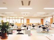 工場内にある事務所でのお仕事です!! 「久々のお仕事復帰」「オフィスワーク始めてみたい!」という方にもオススメです!