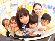 0~2歳児クラスの保育補助◎かわいい子どもたちの成長を見守りながら、自分もスキルアップしましょう♪ ※写真はイメージ