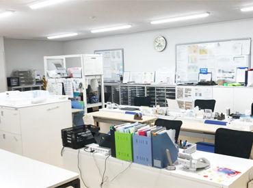 <20~60代を中心に活躍中> 整理整頓された落ち着いたオフィス! 未経験でもスグに覚えられる シンプルなお仕事をお任せします