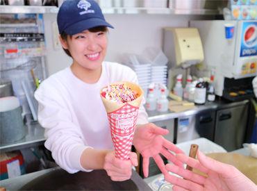 """«バイトデビュー大歓迎»""""赤・白・青""""トリコロールカラーのCafeみたいなかわいいお店です♪駅チカで通勤らくちん◎"""