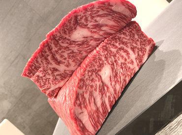 「美味しそう~」と笑みがこぼれてしまうような、お肉をご提供◎ 自信を持ってお出しできるので、 お客様との会話も弾む♪