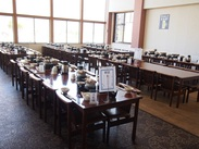 レストランスペースは広くて綺麗♪