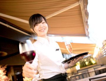 女性客にも大人気☆シックで落ち着いた店内で、楽しく接客してくださいね!カワイイ制服も魅力的♪オシャレも楽しめますよ★