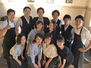 \Staff同士とっても仲良し!/20~30代活躍中!!未経験スタート多数☆シフト自由・扶養内OK◎でとっても働きやすい職場です♪